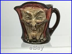 RARE Royal Doulton 2 Faced Mephistopheles Devil Character Jug With Verse Perfect