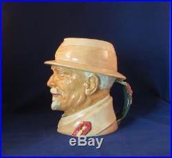 RARE Royal Doulton FIELD MARSHAL SMUTS Large Toby Character Jug D6198