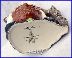RARE Royal Doulton OKOBOJI N. American Indian Ltd Ed of 180 D6611 LG Jug 1973