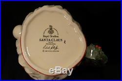 REDUCED AGAIN Royal Doulton SANTA LARGE 7 CHARACTER JUG D6794 Wreath Handle