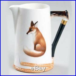 REYNARD THE FOX by Royal Doulton Milk Jug 4.5 tall NEW NEVER USED made England