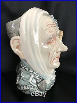 ROYAL DOULTON Character JugMARLEY'S GHOST #D7142-CHRISTMAS CAROL-#572/2500 COA
