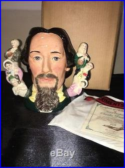 ROYAL DOULTON Charles Dickens Large Character Jug D6939 -1995 Limited Edition