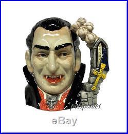 ROYAL DOULTON Count Dracula Large Character Jug D7053-Character Jug of the Year