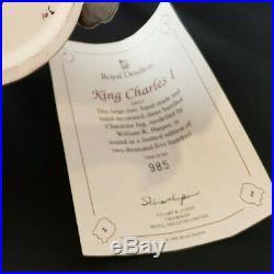 ROYAL DOULTON KING CHARLES I CHARACTER JUG / LOVING CUP D6917 LTD. Edition