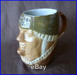 ROYAL DOULTON LAMBETH Stoneware SIMEON TOBY JUG Marriage Day/After Marriage 8595
