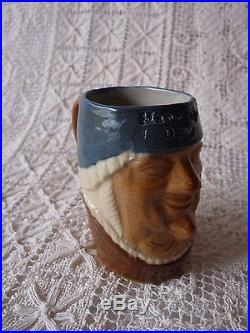 ROYAL DOULTON LAMBETH Stoneware SIMEON TOBY JUG Marriage Day/After Marriage 8596