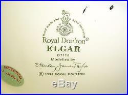 Royal Doulton Large Character Jug Elgar D 7118 England 1998