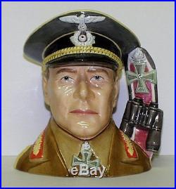 Royal Doulton Large Character Jug Field Marshall Erwin Rommel D7290