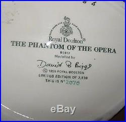 Royal Doulton Large Character Jug Phantom Of The Opera D7017