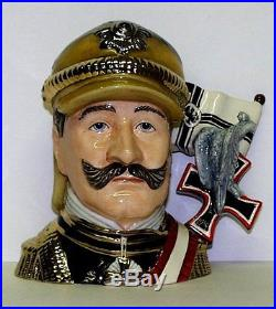 ROYAL DOULTON LARGE SAMPLE COLOURWAY PROTOTYPE CHARACTER JUG EMPEROR KAISER