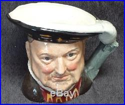 ROYAL DOULTON TOBY JUGS HENRY VIII and HIS 6 WIVES LARGE SIZE Complete Set