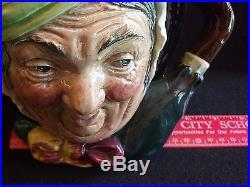 ROYAL DOULTON TOBY MUG JUG LARGE 6.5 INCH SIZE SAIREY GAMP Old Mark A