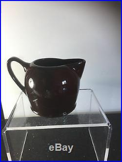 Rare DAME The Cup that Cheers Cream Jug Royal Doulton KINGSWARE 1901 ENGLAND