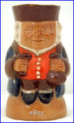 Rare Doulton Toby Jug Small Standing Man with Smiling Face