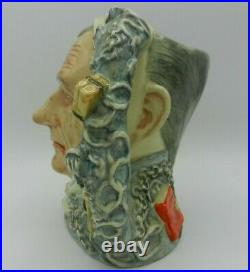 Rare Large Royal Doulton Character Jug MARLEY'S GHOST D6588