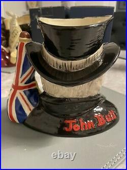 Rare Prototype Of John Bull Royal Doulton Character Jug