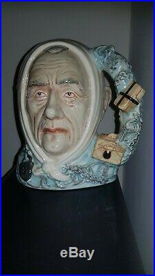 Rare Royal Doulton Character Jug Marley's Ghost & Certificate D7142 Mint