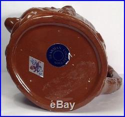 Rare Royal Doulton D552 Granny Dark Brown Glaze Large Character Jug
