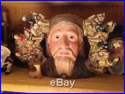 Rare Royal Doulton Geoffrey Chaucer Two-Handled Character Jug 122/1500