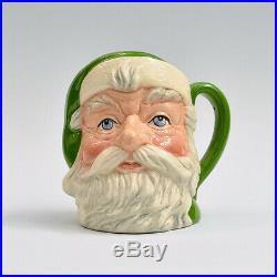 Rare Royal Doulton Green Santa Claus Small Jug