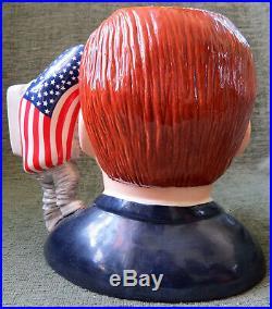 Rare Royal Doulton John F. Kennedy Large Character Jug D 7246 42/1000