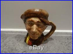 Rare Royal Doulton Miniature Character Jug Pearly Boy'Arry
