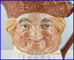 Rare Royal Doulton Musical Character Jug Brown Crown Old King Cole