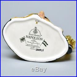 Rare Royal Doulton Prototype Gold Napoleon Character Jug D6941