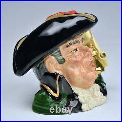 Rare Royal Doulton Prototype Town Crier Character Jug