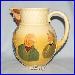 Rare Royal Doulton Queensware Charles Dickens Dickensware Jug