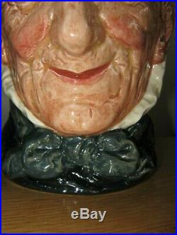 Rare Royal Doulton Toothless Granny Character Jug