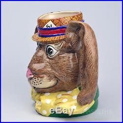 Rare Royal Doulton'march Hare' Prototype Character Jug