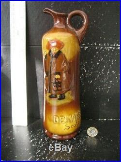 Rare Version Royal Doulton Night Watchman Kingsware Dewar's Scotch Whisky Jug