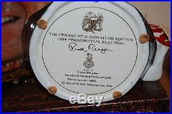 Ronald Reagan D6718 Large Royal Doulton Character Jug With Original Box and More