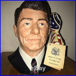 Ronald Reagan Royal Doulton Jug