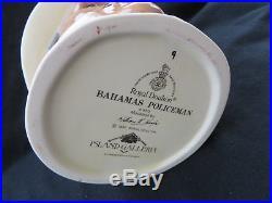 Royal Doulton BAHAMAS POLICEMAN D6912 Large Toby Jug Mug Excellent