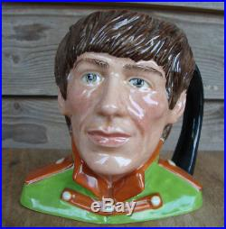 Royal Doulton Beatles George Harrison Toby Jug Mug Sgt Pepper 1984