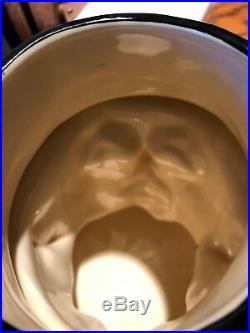 Royal Doulton Blue Flambe Phantom Jug