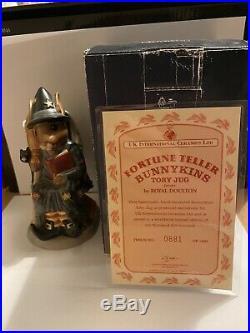Royal Doulton Bunnykins tea pot joblot of 3 and 3 rare collectable, toby jugs