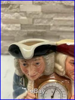 Royal Doulton CELSIUS & FAHRENHEIT Toby Jug / c. 1999 278/2500