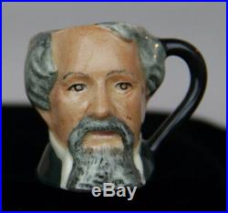 Royal Doulton CHARLES DICKENS TINIES COLLECTION Char Jugs / 1982-89 1st Quality