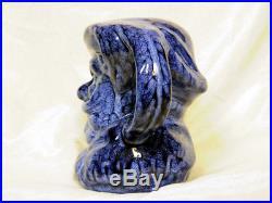Royal Doulton COLOUR SAMPLE Toby / Liquor Jug BLUE FALSTAFF Unusual COLORWAY