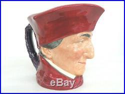 Royal Doulton Cardinal Toby Jug Porcelain Character Mug Made in England 859B