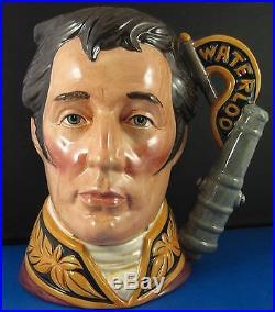 Royal Doulton Character Jug Duke Of Wellington D6848 Style 1