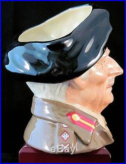 Royal Doulton Character Jug Field Marshall Montgomery D6908