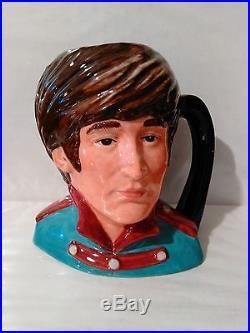 @ Royal Doulton Character Jug John Lennon D6725 MID 5.5 1984-91