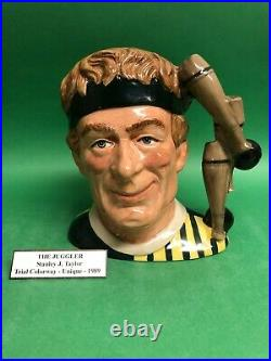Royal Doulton Character Jug Large Juggler Colorway Museum sale