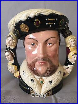 Royal Doulton Character Jug Large King Henry D6888