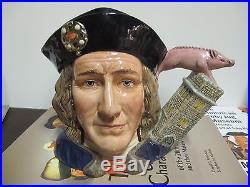 Royal Doulton Character Jug Large Richard III D7099 Ltd Ed